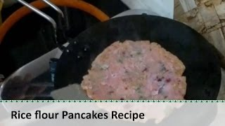 Chaawal Ke Aate Ke Pude |  Rice Flour Pancakes | Indian Rice Pancakes By Healthy Kadai