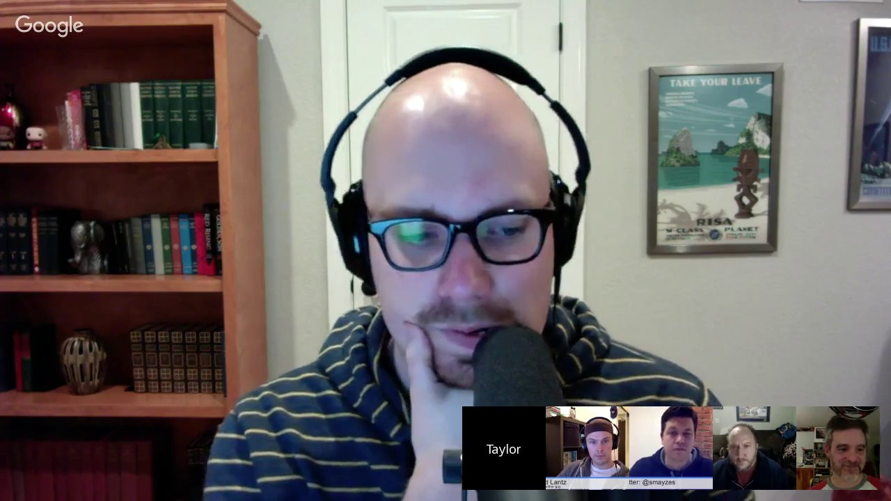 LaraChat Live - Episode 18 - Taylor Otwell