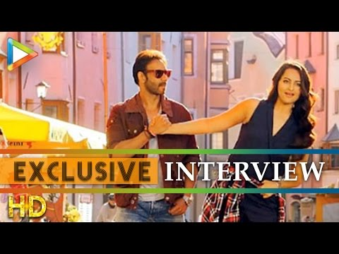 Ajay Devgn Sonakshi Sinha exclusive interview on Action Jackson - Part 1