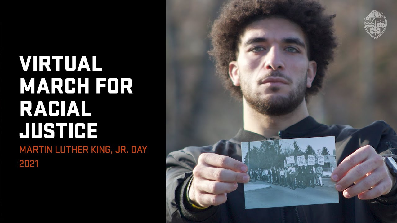 Virtual March: Martin Luther King, Jr. Day 2021