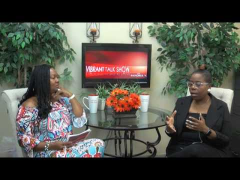 Vibrant Talk Show With Sandra V. and Composer and Recording Artist Ehmandah