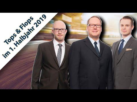 Max Otte Vermögensbildungsfonds: Tops und Flops im 1  Halbjahr 2019