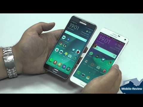 Сравнение Samsung Galaxy Note 5 и Note 4