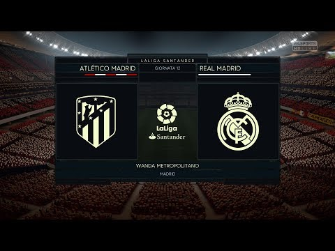 ATLETICO MADRI VS REAL MADRID |DERBY| 18/11/2017 - FIFA 18 Predicts by Pirelli7