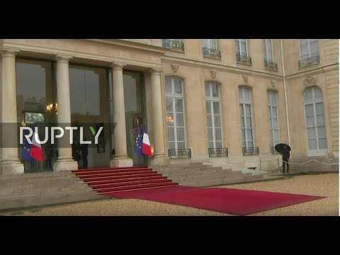 LIVE: Putin, Trump among international leaders to depart from Elysee after luncheon