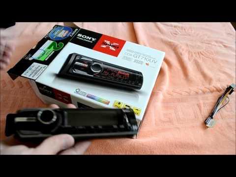 Автомагнитола Sony Cdx-gt710uv