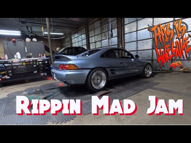 Right Hand Drive Madness Rad Mr2, Boostedboi Kyle named this video 😂