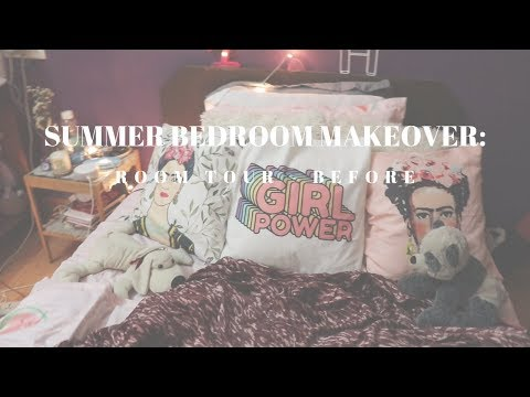 Summer Bedroom Makeover: Before (Room Tour) | Small Indian Rented Bedroom Tour | 2019