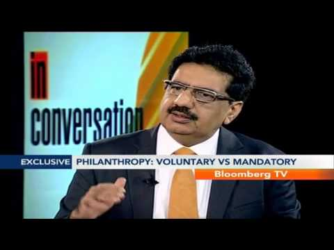 "In Conversation- ""Pvt Philanthropy A Drop In The Ocean"""