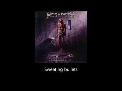 Megadeth - Sweating Bullets (Lyrics)
