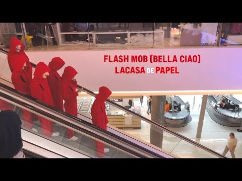 Flash Mob (Bella Ciao) LaCasa De Papel (Cyprus)