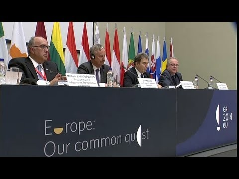 Informal Meeting of Ministers for Transport and Telecommunications - 8.5.2014  - press conference