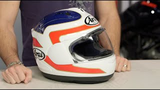 arai corsair x spencer helmet review at revzilla com