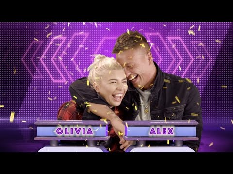 Alex Bowen And Olivia Buckland Play Mr & Mrs | MTV Celeb