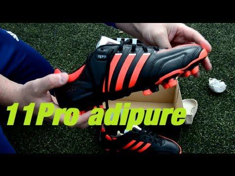 6e81e5d97d93 ADIDAS adipure 11Pro TRX FG black   infrared - YouTube