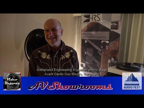 Sutherland Engineering Argentum phono stage, Ron Sutherland, Avant Garde Duo Mezzo, Bergmann RMAF