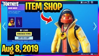 FORTNITE ITEM SHOP *NEW* BONE WASP AND FACET SKINS! | ITEM SHOP (Aug 8, 2019)