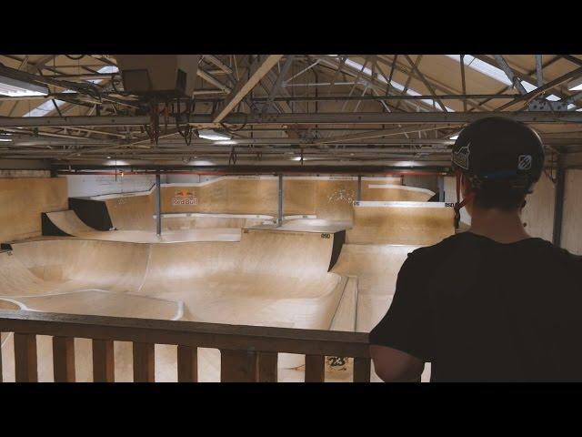 Matej Žan visits Unit23 skatepark