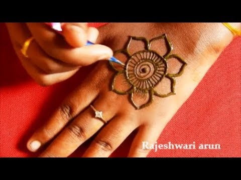 Most Easy Arabic Mehndi Design For Back Hands * New Latest Mehndi Designs 2018 * Beautiful Henna