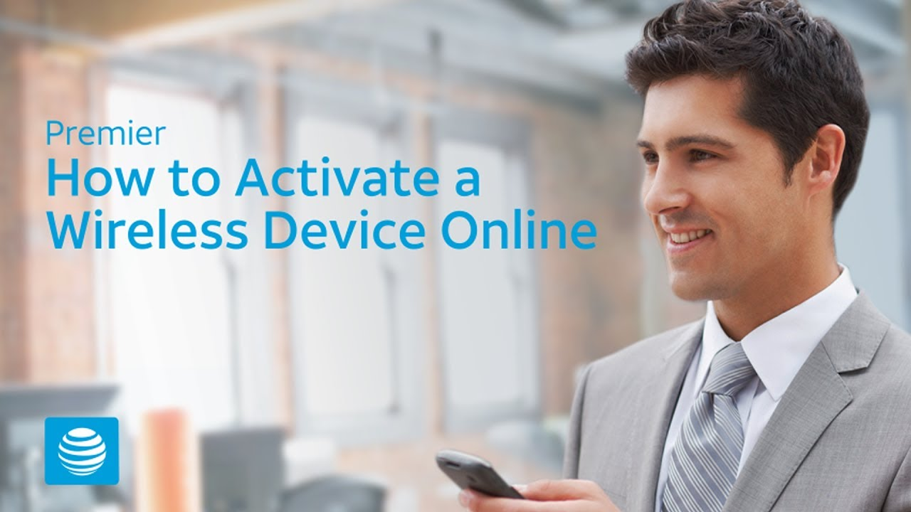 How To Activate A Wireless Device Online '�  At&t Premier How To Block A  Number
