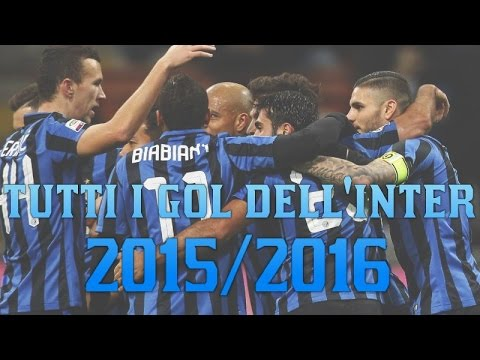Tutti i gol dell'Inter 2015/2016 [HD] | By Pianeta INTER
