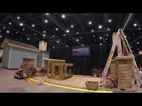2017 Fall Raleigh Convention Center Home Show Majestic Outdoors Booth