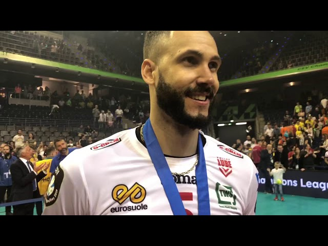 Juantorena MVP della Finale di Champions League