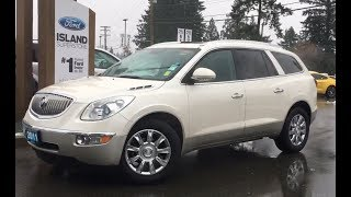 2011 Buick Enclave CXL Leather, Moonroof, Backup Review| Island Ford