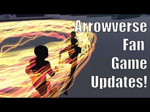 The Arrowverse Fan Game Update!