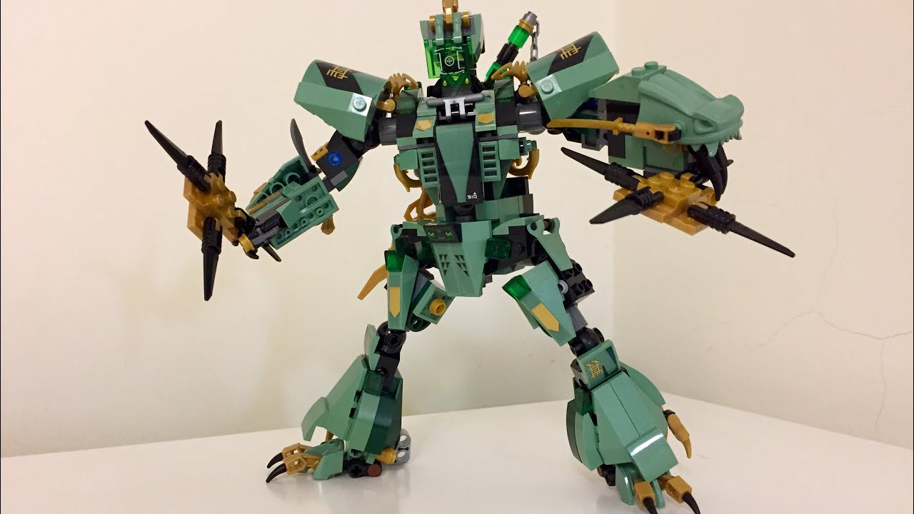LEGO Ninjago Set 70612 Green Dragon - Lloyd's mech ...