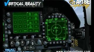 Vertical Reality Simulation Superbug Munitions Demo