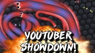 YouTuber Showdown! (Slither.io)