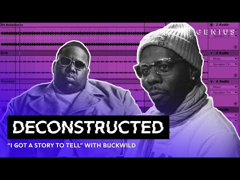 """The Making Of The Notorious B.I.G.'s """"I Got A Story To Tell"""" With Buckwild 