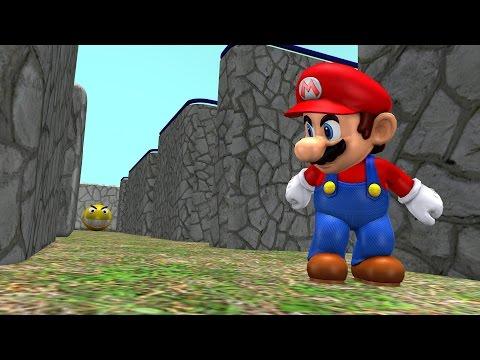 Save Pacman vs Super Mario Screenshots