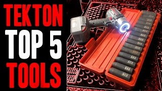 Top 5 TEKTON Tools!