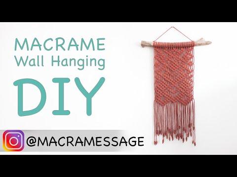 macrame-wall-hanging-tutorial-/-scandinavian-pattern- -easy-diy-for-macrame-beginners