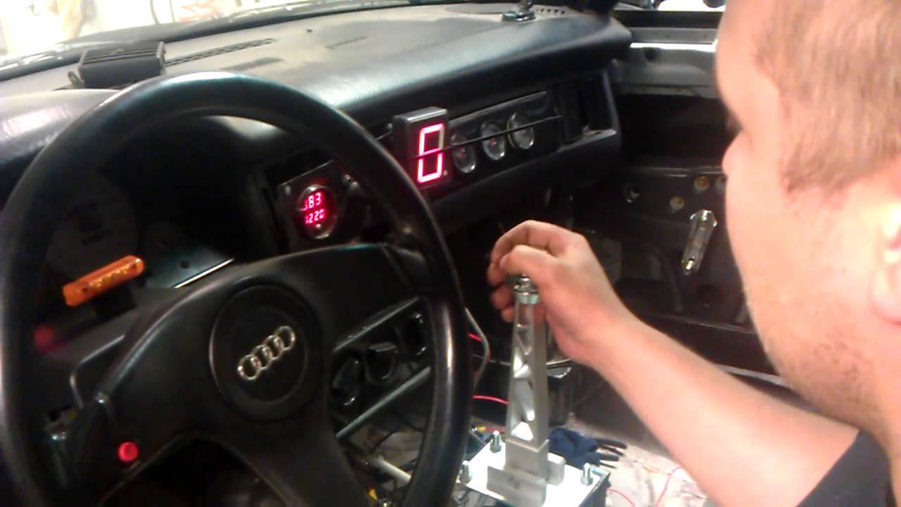 Audi 01e Dog Box Sqs Sequential Shifter Youtube