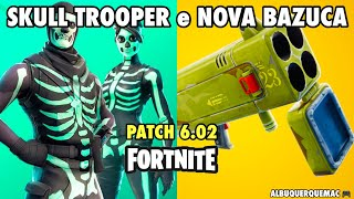 FORTNITE-SKULL TROOPER in the SHOP, Skull RANGER SKIN (SKULL GUARD) and QUAD LAUNCHER | Patch 6.02