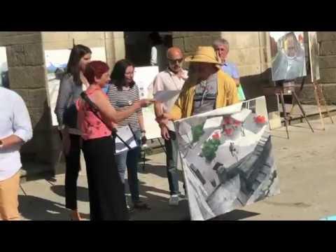 O Concello entrega os premios do certame de pintura rápida