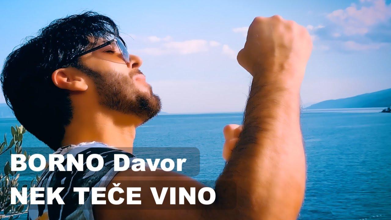 BORNO Davor - NEK' TEČE VINO (official video 2020) 4K Ultrawide NEW!