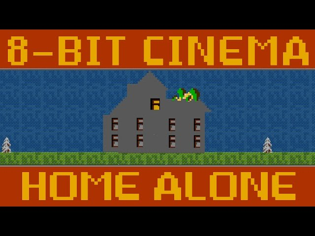 Home Alone - 8 Bit Cinema