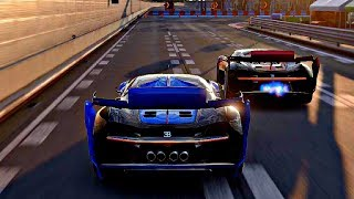 Gran Turismo Sport - Gameplay Bugatti Vision GT @ Tokyo Expressway [1080p 60fps]