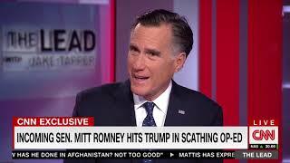 Romney: I'm not running in 2020, I'll consider alternatives to Trump
