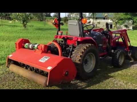 Rears SPF Flail Mower - YouTube