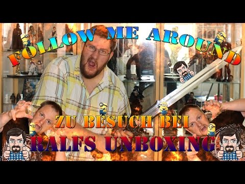 Follow me Around - Besuch bei Ralfs Unboxing