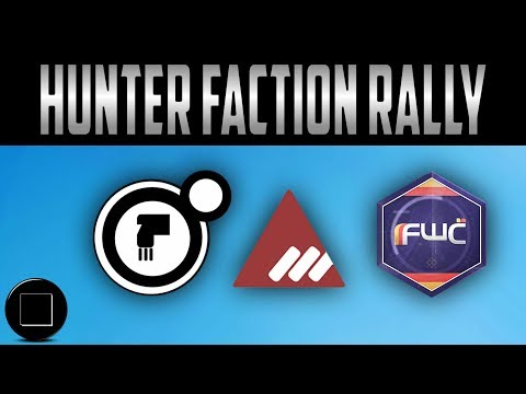Destiny 2 - Hunters Faction Rally Gear And Shaders