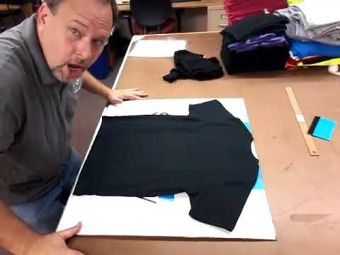 How we store blank shirts.  It works for us.l