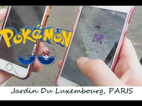 POKEMON GO - Jardin du Luxembourg + Petit TUTO