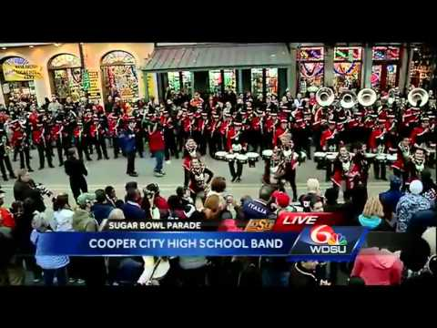 New Year's Eve Parade: Cooper City High School Band