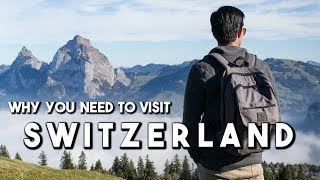 How To Travel Switzerland (World's Most Beautiful Mountains)